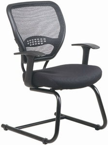 Space Seating Air Grid Back Visitors Chair with Mesh Seat [5505]