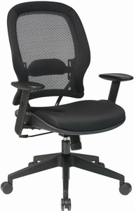 Space Seating® AirGrid Mesh Mid-Back Managers Chair [5540]