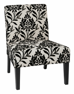 Incroyable Office Star Ave Six Laguna Chair Paradise Fabric [LAG51 P3]
