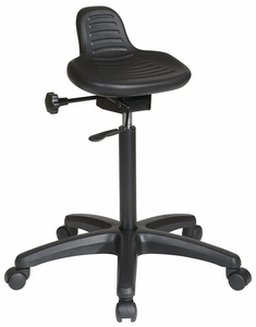 Captivating Work Smart Backless Sit Stand Chair [KH206]