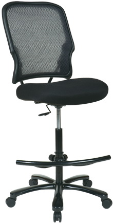 E Seating And Tall Mesh Drafting Chair 15 37a720d
