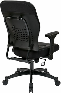 Space Seating Eco Leather Task Chair [32-E3371F3]