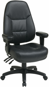 Work Smart Eco-Leather Task Chair [EC4300]
