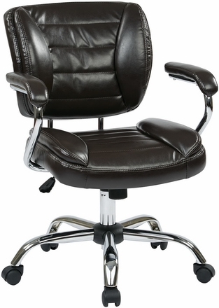 Work Smart Faux Leather Task Chair [ST52052CA]  sc 1 st  Office Chairs Unlimited & Office Star Task Chair ST52052CA|Office Chairs Unlimited