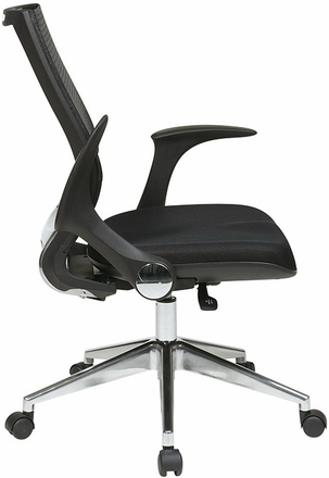 Pro Line II Mesh Managers Chair with Flip Up Arms [80885AL]