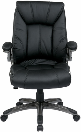 Office Star Mid Backchair With Flip Arms Flh24981 Office