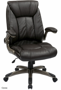 office star mid backchair with flip arms flh24981 office chairs