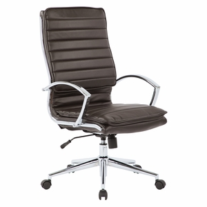 Perfect Office Star Pro Line II™ High Back Manageru0027s Chair Espresso Faux Leather  [SPX23590C U1]