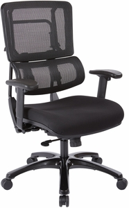Office Star Pro Line II™ Vertical Black Mesh Back Chair [99663B 30]