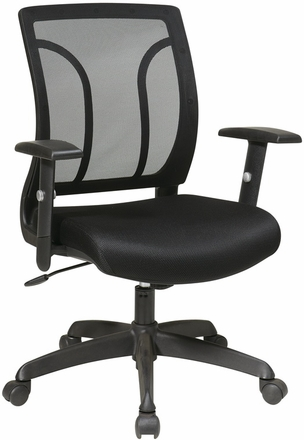 Work Smart Screen Back Task Chair with Arms [EM50727]  sc 1 st  Office Chairs Unlimited & Office Star Screen Back Task Chair with Arms EM50727|Office Chairs ...
