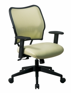 Office Star Space Seating® Deluxe Chair Kiwi VeraFlex® Back Fabric Seat  [13 V66N1WA]