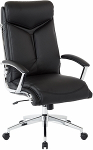 Superbe Office Star Work Smart™ Executive High Back Chair Faux Leather [FL90071C U6]