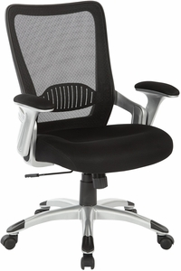 Office Star Work Smart Screen Back Chair Emh69216 3m