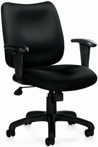 Offices To Go™ Task Chair with Arms [OTG11612B]