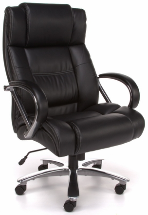 ofm 810-lx avenger, 500 lb capacity big and tall chair - free