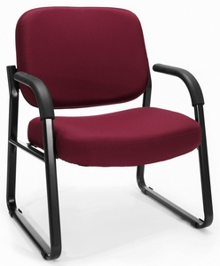 OFM Big And Tall Sled Base Guest Chair With Arms [407]