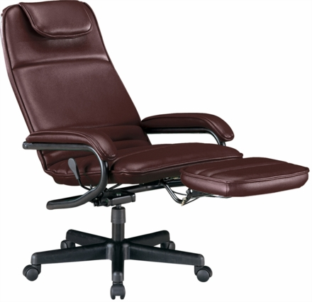 ofm power rest executive office chair recliner 680 free shipping. Black Bedroom Furniture Sets. Home Design Ideas