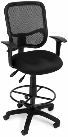 Mesh Drafting Chair Ofm Chair Office Chairs Unlimited