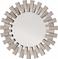 OSP Designs Apollo Glass Round Deco Wall Mirror [SH9360]