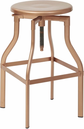 Office Star 30 Quot Metal Barstool Copper Etv30as Cp Office