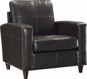 OSP Furniture® Espresso Bonded Leather Club Chair [SL2811-EC1]