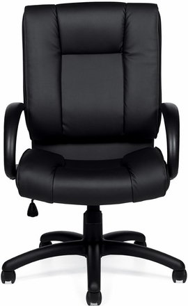 Awesome OTGu0026trade; Luxhide Leather Executive Chair ...
