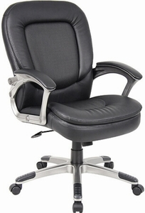 Perforated Pillow Top Boss Executive Chair [B7106]