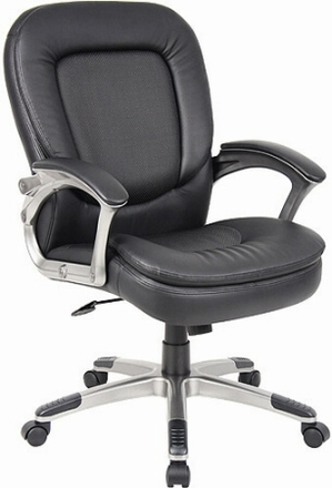 Incroyable Perforated Pillow Top Boss Executive Chair [B7106]