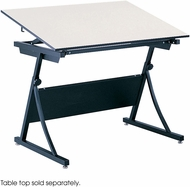 PlanMaster Height-Adjustable Drafting Table Base Black [3957]