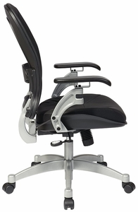 Space Seating Professional Air Grid Back Office Chair in Black [3680]