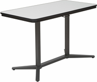 Pro-Line II� Pneumatic Height Adjustable Table Titanium Base [PHT70527]