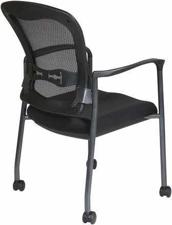 Pro-Line II™ Titanium Visitors Mesh Arm Chair ProGrid® Back [84540-30]