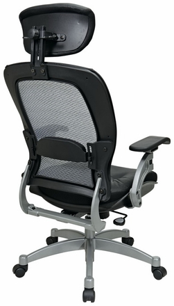 Space Seating Professional Mesh Office Chair with Headrest [36806]
