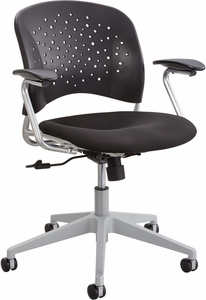 Reve™ Task Chair Round Back Black [6803BL]