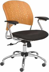 Reve™ Plastic Task Chair Natural 6809NA [6809NA]