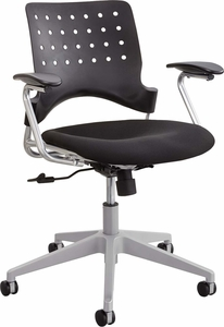 Reve™ Task Chair Square Back Black [6807BL]