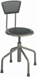 Safco Diesel Stool with Backrest [6668]