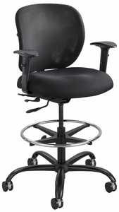 Safco Vue 24/7 Heavy Duty Drafting Stool [3394BL]