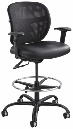 Safco Vue 24/7 Heavy Duty Drafting Stool [3394BL]  sc 1 st  Office Chairs Unlimited & Safco Vue Big and Tall Drafting Chair - Holds 350 LBS [3394] islam-shia.org