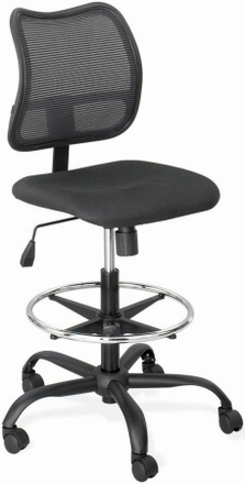 Safco Vue Mesh Back Drafting Stool 3395bl Free Shipping