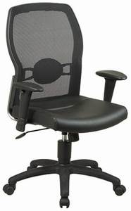 Work Smart Screen Back Executive Mesh Chair [599402]