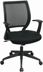 Work Smart Screen Back Office Star Mesh Chair Em51022n