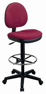 Work Smart Sculptured Seat and Back Drafting Chair [DC550]