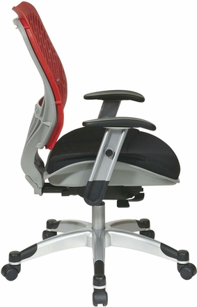 Space Seating® Cosmo SpaceFlex® Raven Mesh Managers Chair [86-M39C625R]