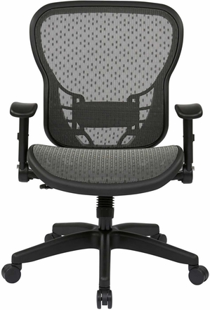 Space Seating® Deluxe R2 SpaceGrid® Chair with Flip Arms [529-R22N1F2]