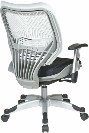 Space Seating Ice SpaceFlex® Raven Mesh Managers Chair [86-M32C625R]