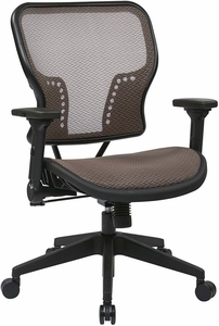 SPACE Seating Latte Air Grid® Seat and Back Chair [213-88N1F3]