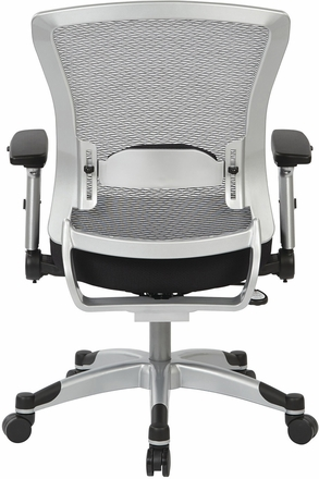 Space Seating® Professional Light AirGrid Chair with Memory Foam [317-ME36C61F6]