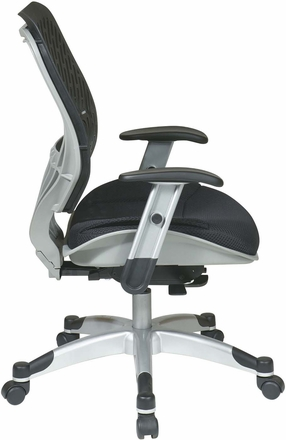 Space Seating® Self Adjusting Raven SpaceFlex® Mesh Managers Chair [86-M33C625R]