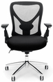 OFM Stratus 24-Hour / Big & Tall Black Mesh Chair [257-BLK]